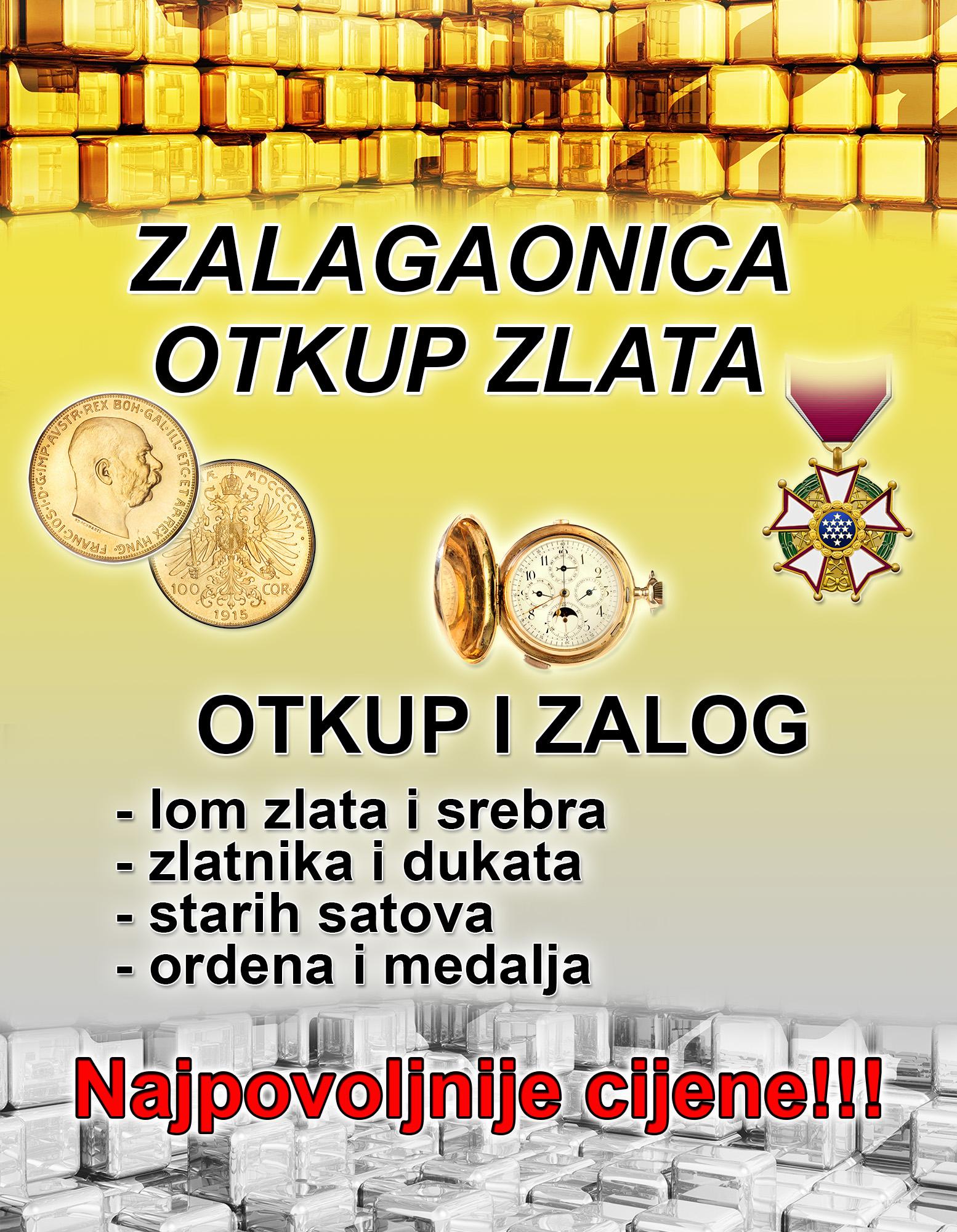 zalagaonica zlato