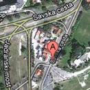 Otkup zlata Zagreb, Savski Most, lokacija